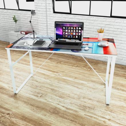 vidaXL Ainutlaatuinen Suorakulmainen Työpöytä