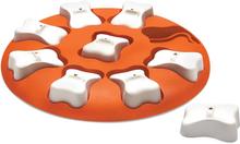 Outward Hound Aktiveringsleksak Nina Ottosson Dog Smart orange och vit