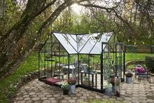 Halls Växthus Garden Room Grön