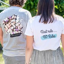 T-shirt til børn lyserød Bagside 3-4 år