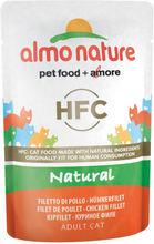 Almo Nature HFC Natural Pouch 6 x 55 g - Hühnerfilet