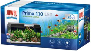 Juwel akvarie Primo LED Starter Set 110 - ca. 110 l, sort