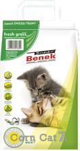 Super Benek Corn Cat Frisk Græs - 7 l
