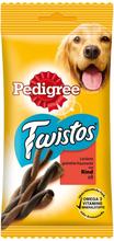Pedigree Twistos - Ekonomipack: 96 x nötkött (12 x 8 st)
