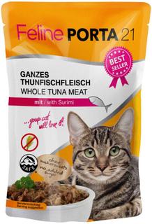 Blandet prøvepakke: 6 x 100 g Feline Porta 21 - Blandet prøvepakke I