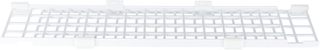 Trixie Beskyttelsesgitter til vinduer, foroven/forneden, kan udvides - Økonomipakke: L 75–125 × B 16 cm (2 dele)