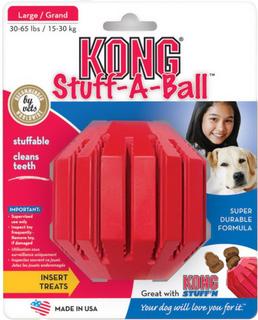 KONG Stuff-A-Ball - Økonomipakke: 2 x L: Ø ca. 9 cm