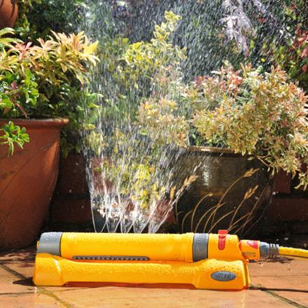 Hozelock Rektangulær Sprinkler Havevander 230 m²