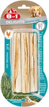 8in1 Delights Pro Dental Kausticks Huhn - 3 x 75 g (9 Stück)