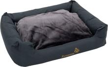 Sleepy Time-koiranpeti tyynyllä, harmaa - P 120 x L 95 x K 30 cm