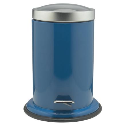 Sealskin Acero Søppelbøtte med pedal blå 3 L 361732410