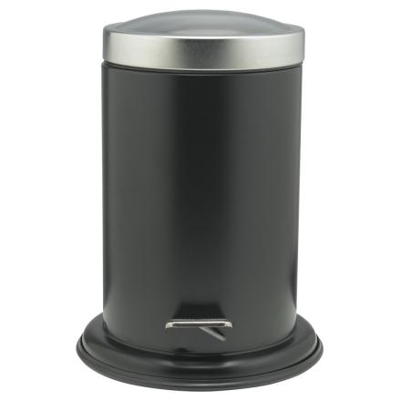 Sealskin Acero Søppelbøtte med pedal svart 3 L 361732410