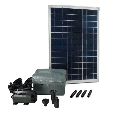 Ubbink SolarMax 1000 med sol panel, pumpe og batteri 1351182