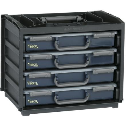 Raaco Lajitelmalaatikko Handy Box 55x4 Osastoa136242