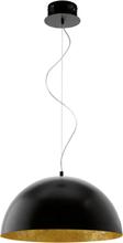 EGLO LED Taklampa Gaetano Svart/Guld 94228