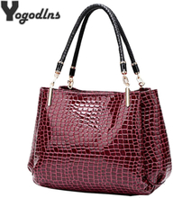 Designer Bags Famous Brand Women Bags Fashion Handbag New Leather Bag Large Capacity Shoulder Bags Casual Crocodile Pattern Tote