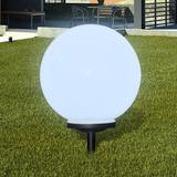 Utelampa LED solpanel 40cm 1-pack