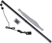 vidaXL Akvarielampa med RGB LED och bubblor 94 cm
