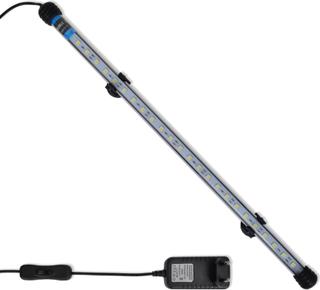 vidaXL Undervattenslampa för akvarium LED 48 cm vit