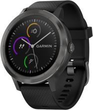 Garmin Vivoactive 4s 40mm Sort Silikone Sort
