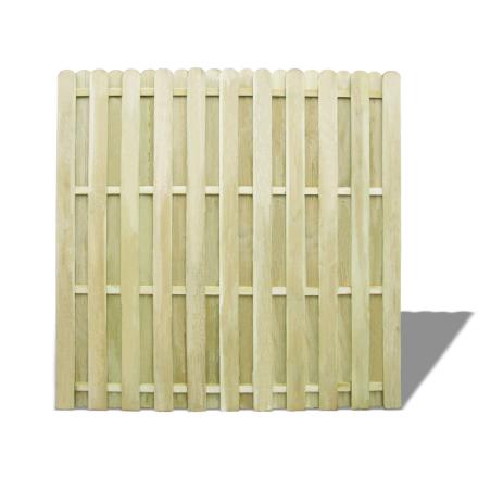 vidaXL hegnspanel FSC imprægneret fyrretræ 180 x180 cm