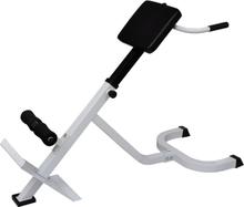 vidaXL Träningsbänk för ryggen