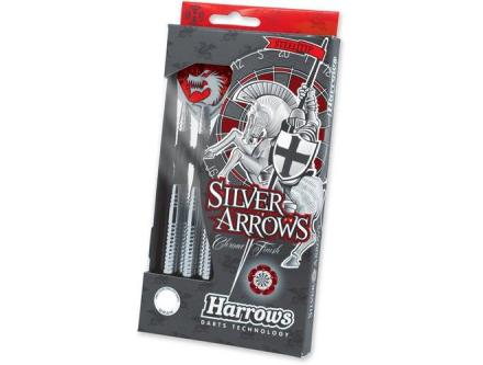 Harrows Steeltip Silver Arrows Dartpile