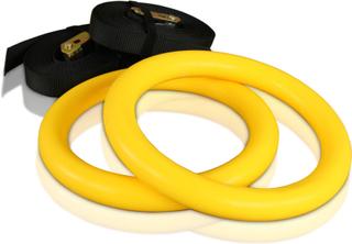 cPro9 Crossfit ABS Romerska Ringar Plast - Gul