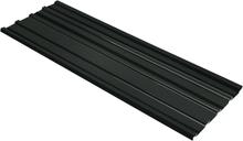 vidaXL Takprofiler 12 st galvaniserat stål antracit