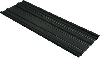 vidaXL Takplater 12 stk galvanisert stål antrasitt