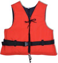 vidaXL Flytväst 50 N 30-50 kg röd