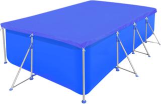 vidaXL Basseng Dekke PE Rektangulært 90 g / m² 400 x 207 cm