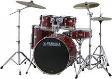 Yamaha Stage Custom Birch Standard Drumset - Cranberry Red