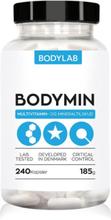 BodyLab Bodymin Vitamin- & Mineraltilskud (240 piller)