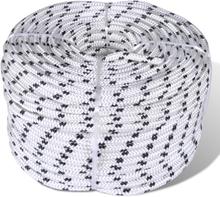vidaXL Båtlina 6 mm x 50 m polyester