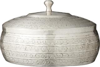 Sabine krukke antik sølv