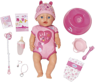 Baby BornSoft Touch Docka Rosa