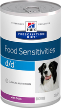 Hill's Prescription Diet Canine d/d Food Sensitivities 370 g - lohi