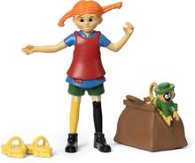 Pippi Långstrump Figurset Micki