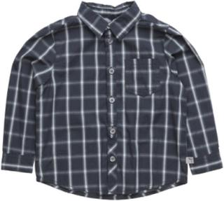 Shirt Olof Ls Skjorte Blå Wheat