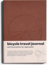 Dokument Press - Bicycle Travel Journal - Brun - ONE SIZE