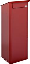 Biggi Postlåda Tömning Bak Rödbrun