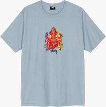 Stussy - Ganesha Tee - Blå - L
