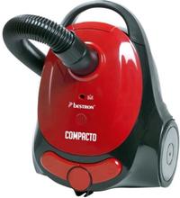 BESTRON Canister dammsugare ABG150RB - Energiklass A - Med påse i rött och svart