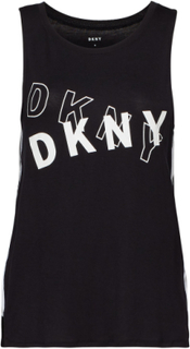 Dkny Only In Dkny Tank Top Topp Svart DKNY HOMEWEAR