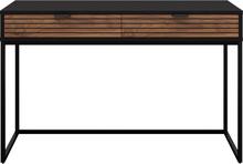 Fiona valnød skrivebord 120 cm