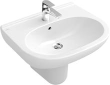 Villeroy & Boch Tvättställ O.novo Med Bräddavlopp 550x450 mm