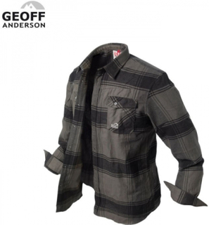 Geoff Anderson Banga Flannel Skjorte