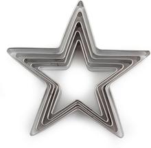 Kakform - Stjärnor (32-67 mm)