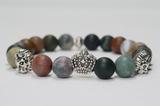 Pärlarmband Crown